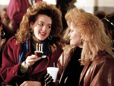 Joan Cusack And Melanie Griffith In Working Girl
