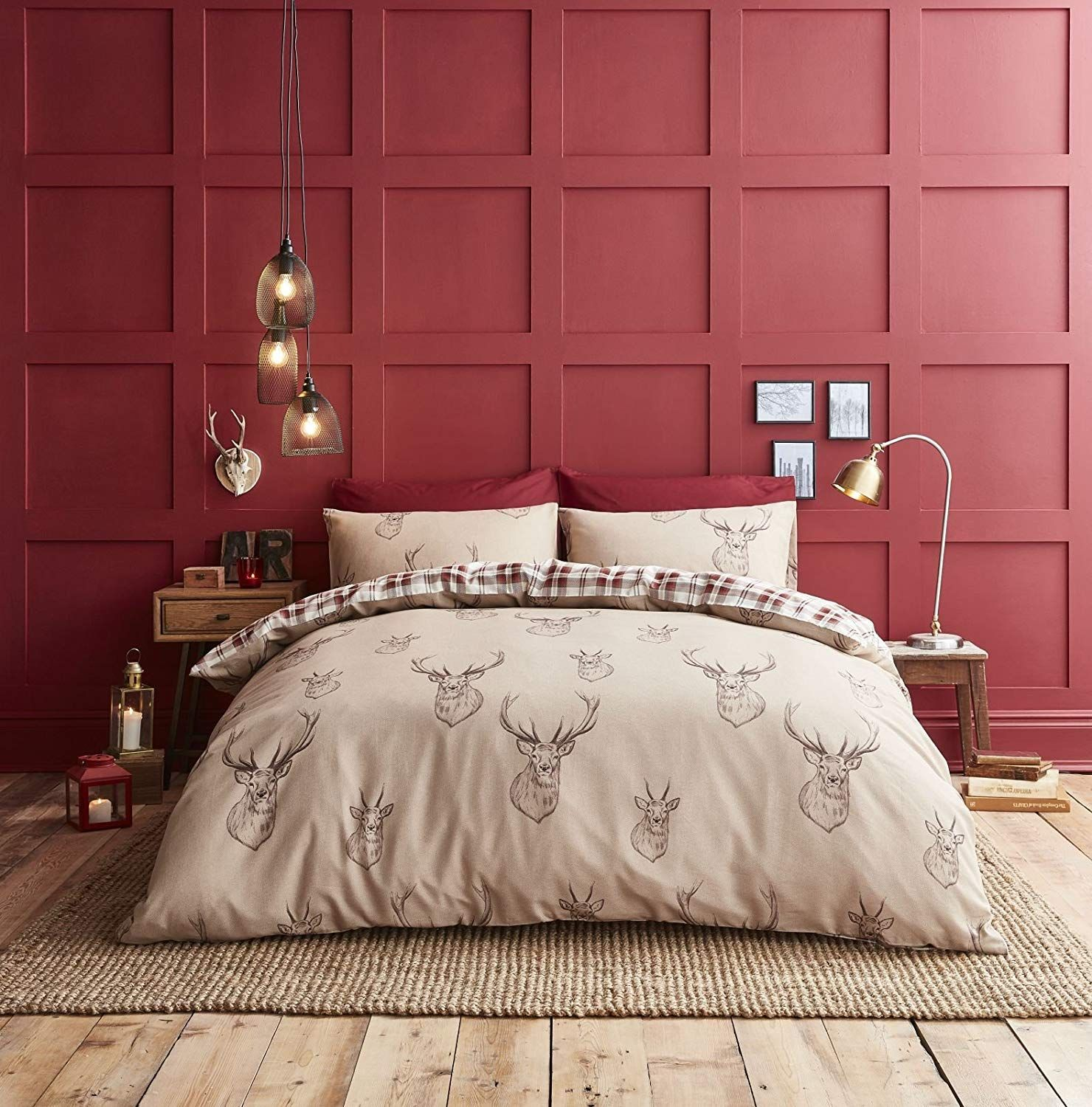 Catherine Lansfield Christmas Bedding A Beautiful Stag Bedding Set From Catherine Lansfield Products