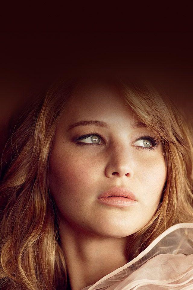 Jennifer Lawrence Red Parallax Hd Iphone Ipad Wallpaper Ojos Bellisima