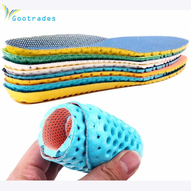 Unisex Shoe Inserts Memory Foam Deodorant Sports Insoles Arch Support Breathable