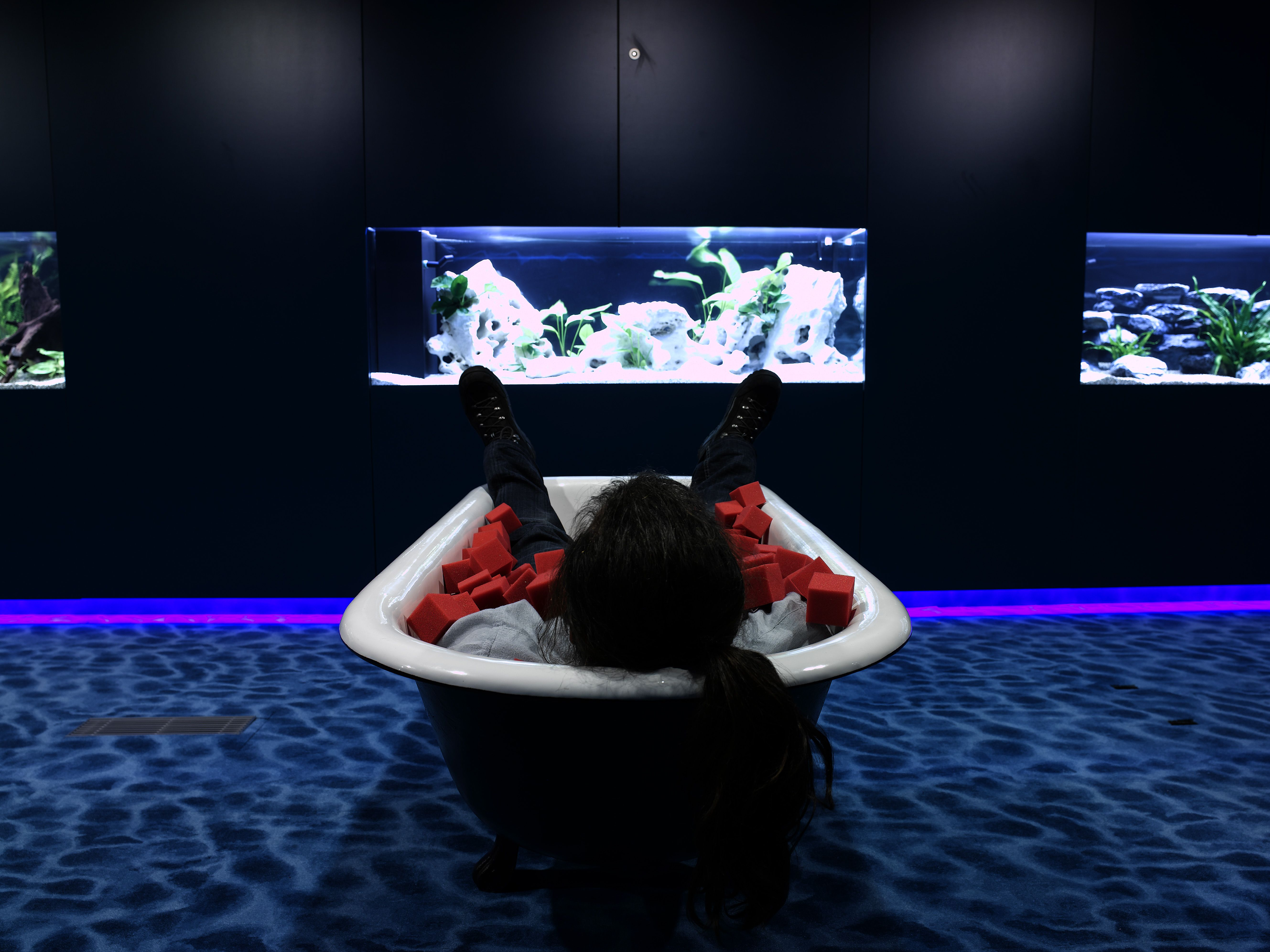 Google office zurich water lounge regenerate at workplace