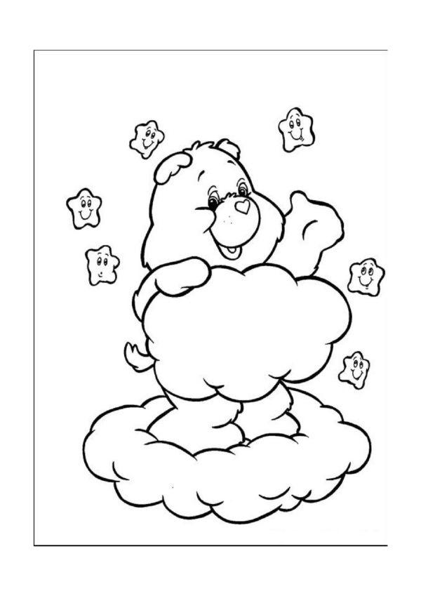 Dibujos para Colorear Osos amorosos 5 | Dibujos para colorear para ...