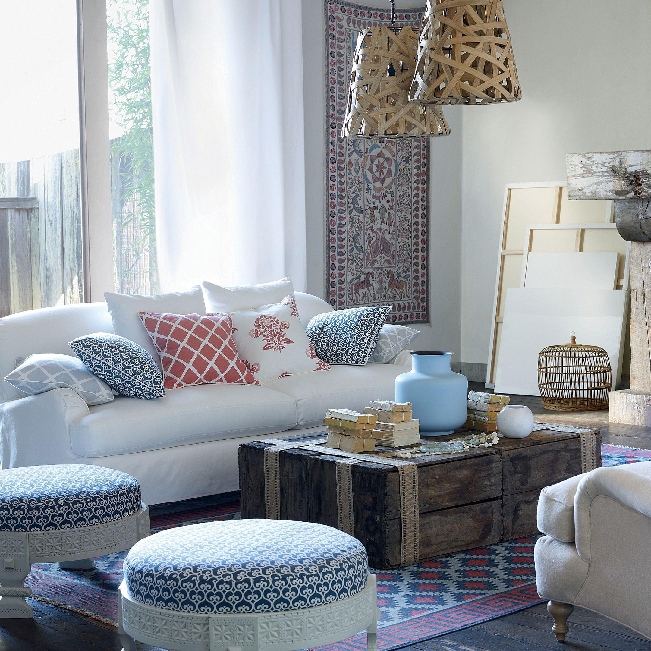 Miramar Sofa Furniture Design Living Room Coastal Decorating Living Room Nautical Living Room Nautical living room decor