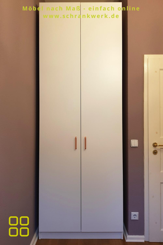 Gerade In Kleinen Etagenwohnungen Kennt Man Diese Beruchtigten Flurnischen Zur Garderobennutzung Unser Ku In 2020 Einbauschrank Schrank Planen Einbauschrank Garderobe