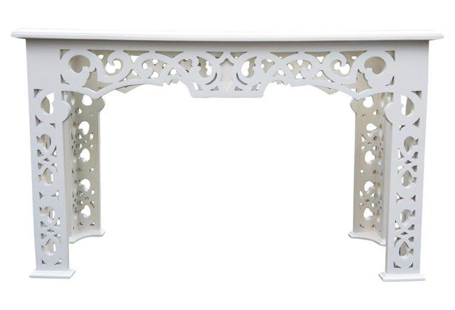 ChippendaleStyle Console Table Canyon Ridge Pinterest Console