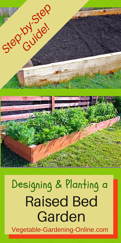 Use Our Free Plans For Building A Raised Bed Vegetable Garden Also Our Free Onli Vegetable Garden Layout Small Small Vegetable Gardens Vegetable Garden Design