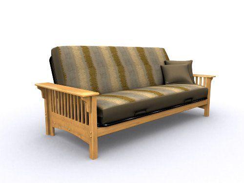 American Furniture Alliance Santa Barbara Metal Wood Frame Full Golden Oak Listing Price 329 99 Now 227 88