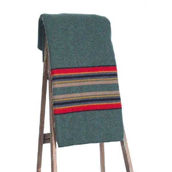 Pendleton blanket (green)