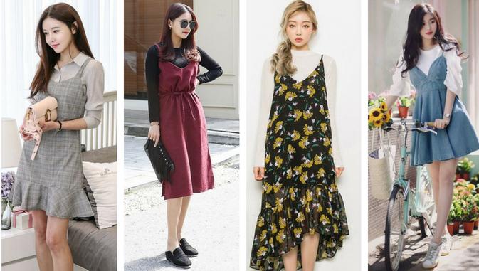Mau Stylish Ala Cewek Korea Ini Daftar Model Baju Wanita Yang Populer Di Korea Styling Pod Model Pakaian Mode Korea Model Baju Wanita