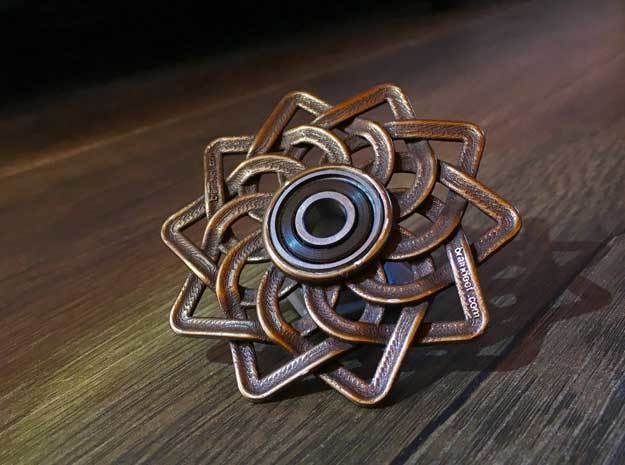 Celtic Lotus Fid Hand Spinner