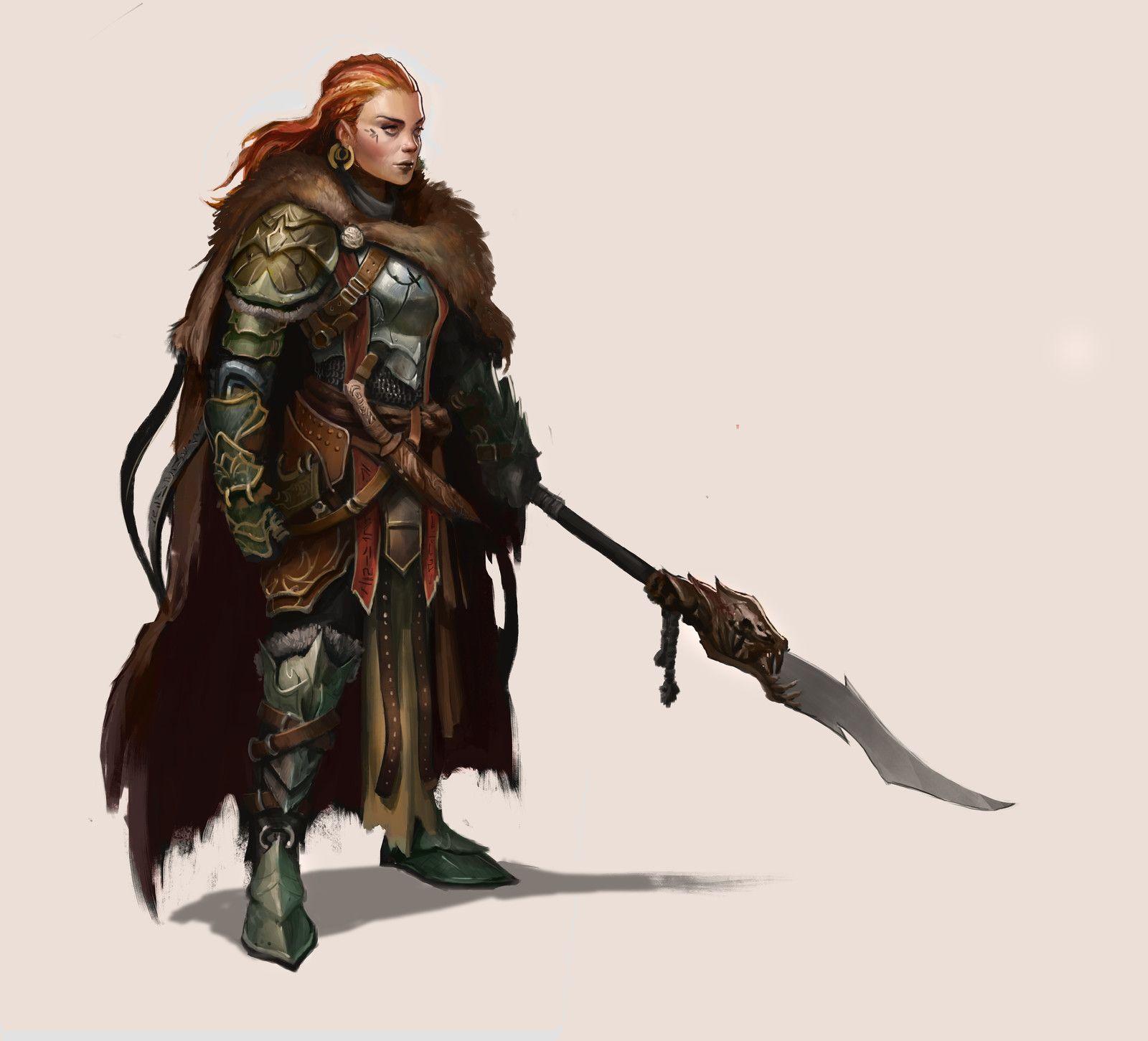 Redhead, Howard Pak on ArtStation at https://www.artstation.com/artwork/dg23Q