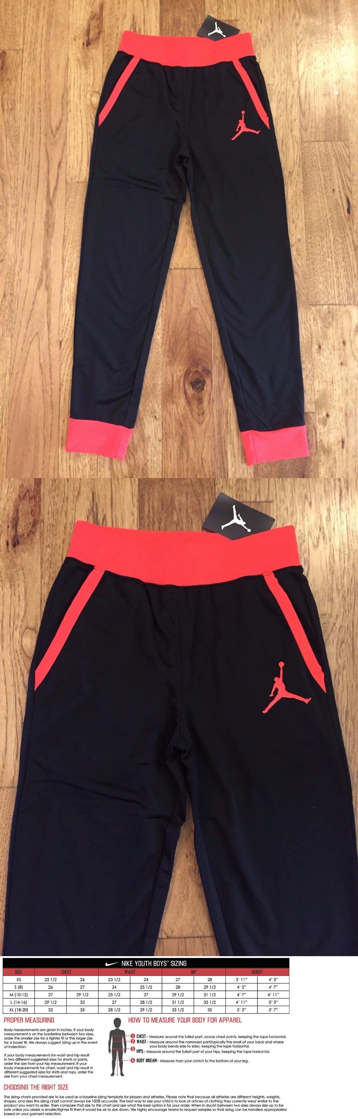 33dcbe1a918 Pants 51920: Air Jordan Jumpman Youth Big Boys Dri-Fit Fleece Jogger Pants  M L Xl -> BUY IT NOW ONLY: $37.66 on eBay!