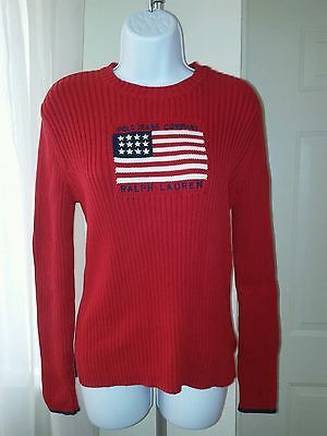 Polo Jeans Co. Ralph Lauren Womens Cotton Ski Sweater X-Large USA ...