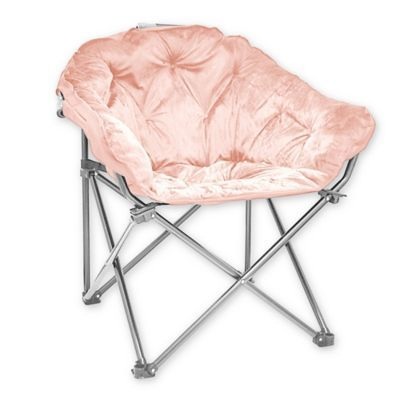 Groovy Folding Faux Fur Club Chair In Blush Products In 2019 Theyellowbook Wood Chair Design Ideas Theyellowbookinfo