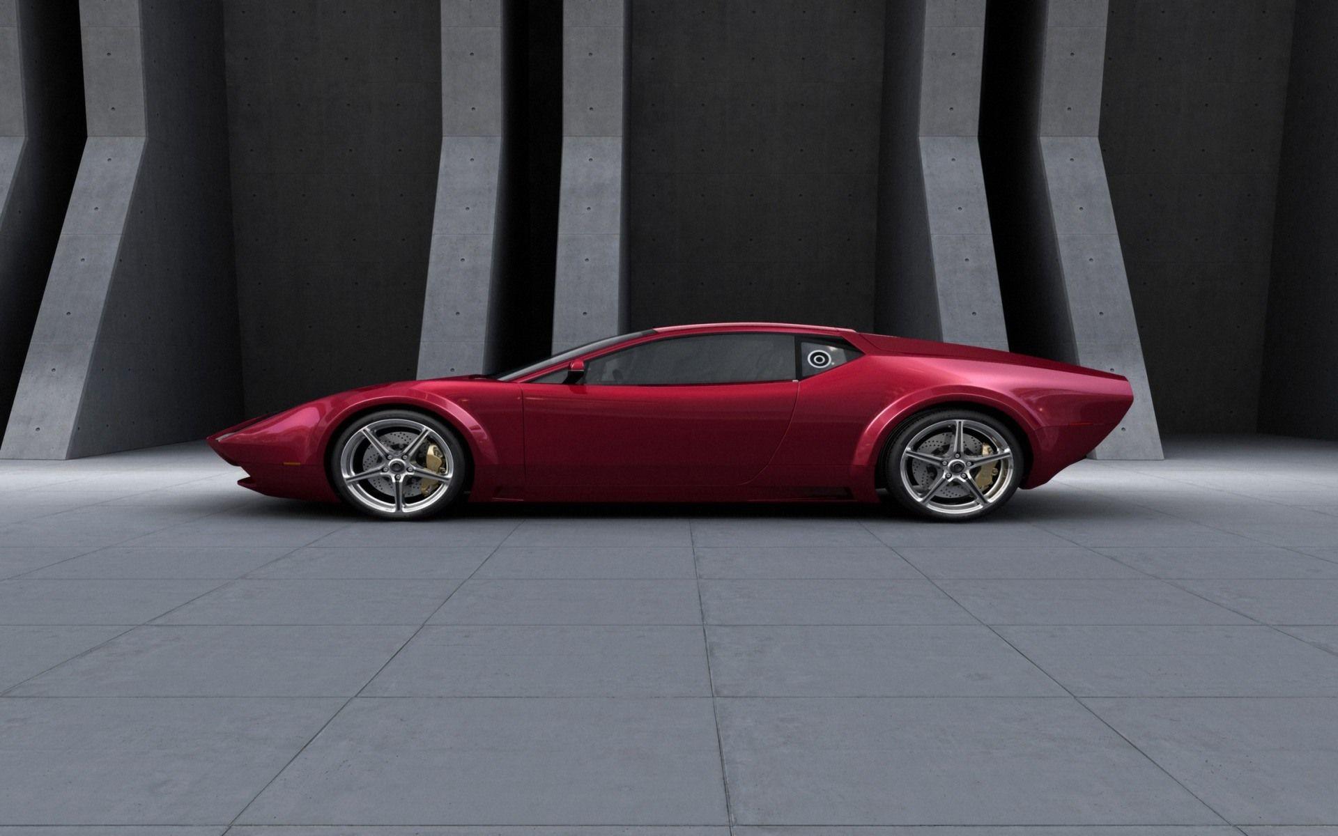 Pin By Don Freeman On Detomaso Pantera Concept Car Design