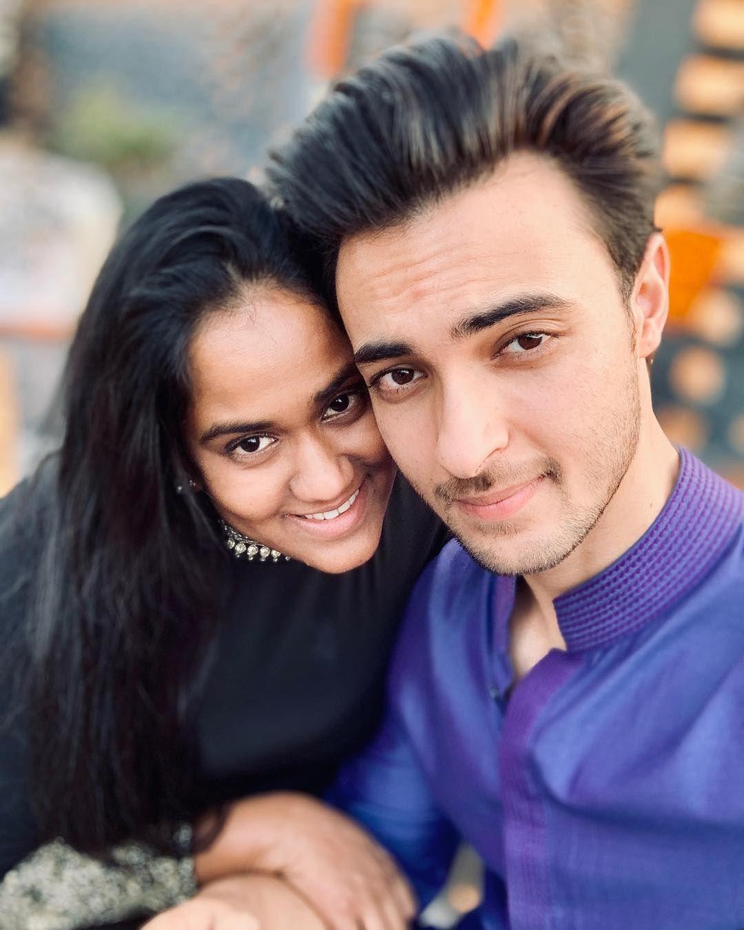 Arpita Khan Sharma and Aayush Sharma are celebrating four