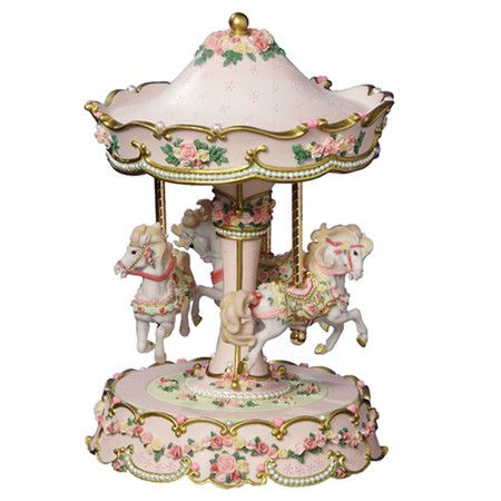 You should see this Hearts & Roses Horse Carousel in Pink on Daily Sales!