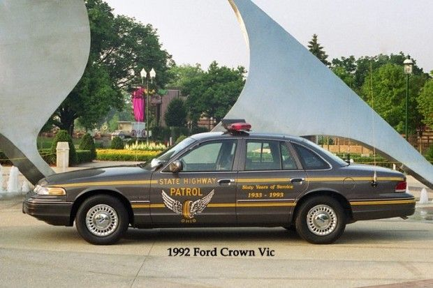 Vintage Photos Of Oshp Cruisers Through The Years Old Police