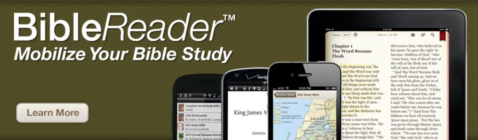 Great reader for the bible for ios and android platforms