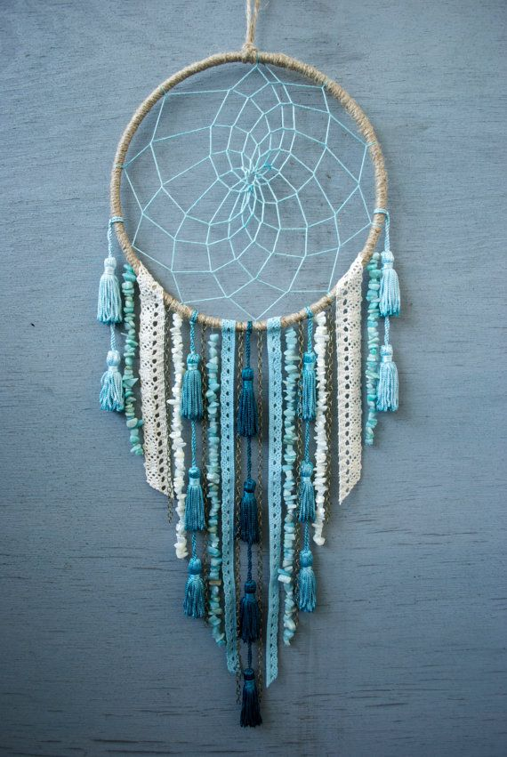 Sea Dreamcatcher by catchingthesea on Etsy