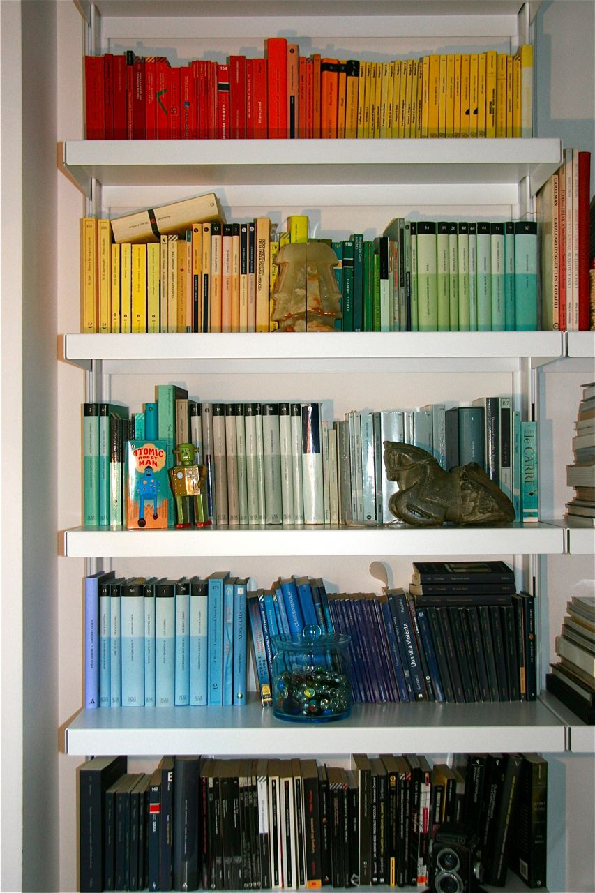 Chromatic library (crazy stuff, you won't find a book ever again :)