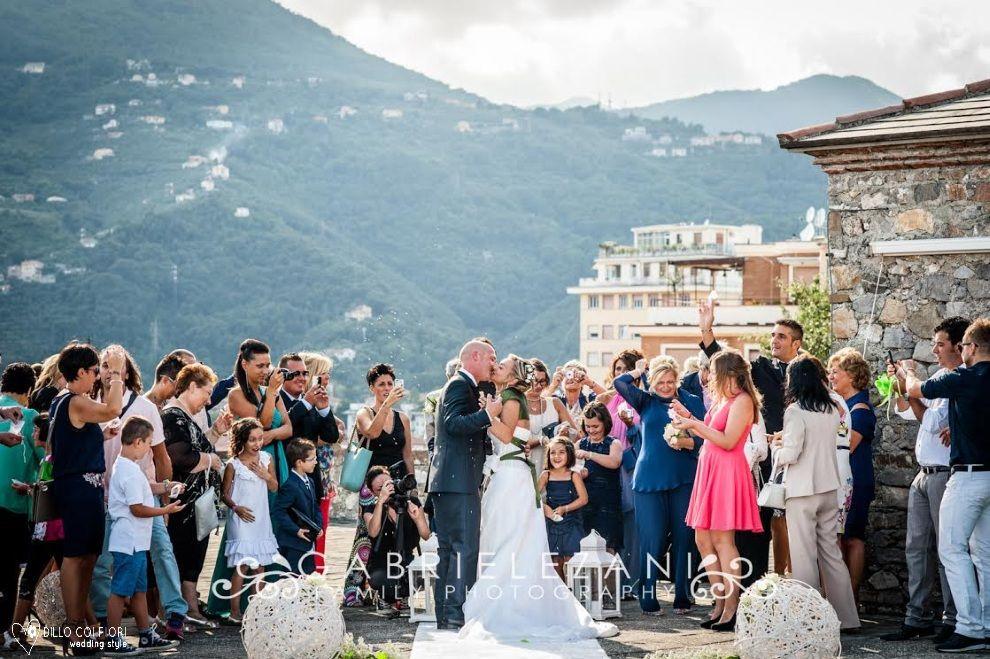 Momenti di commozione dopo il sì al Castello S.Giorgio di La Spezia