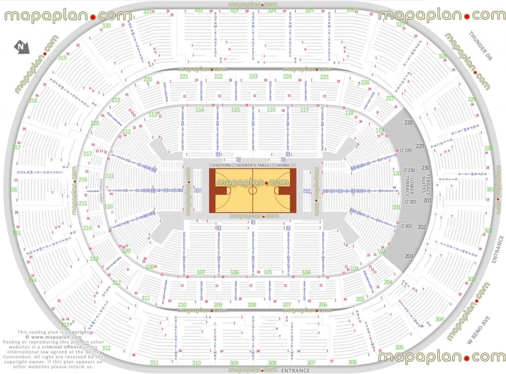 Amazing In Addition To Lovely Okc Thunder Seating Chart Seating Charts Chart Okc Thunder