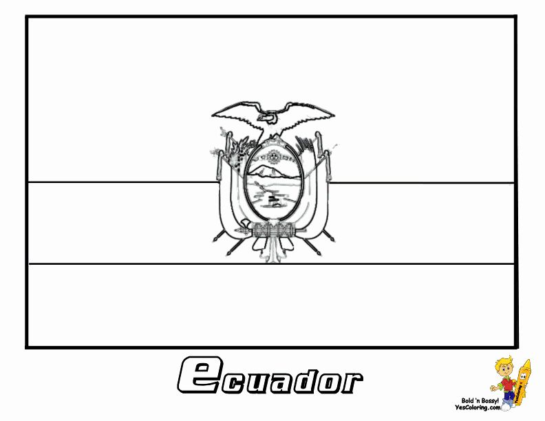 24 El Salvador Flag Coloring Page In 2020 Flag Coloring Pages