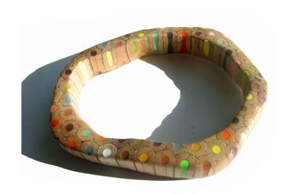 From color pencils to Maria Cristina Bellucci jewels. Amazing...