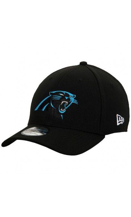 free shipping fb6e5 1d8ff NFL Men's Carolina Panthers New Era Black 39THIRTY Flex Hat ...