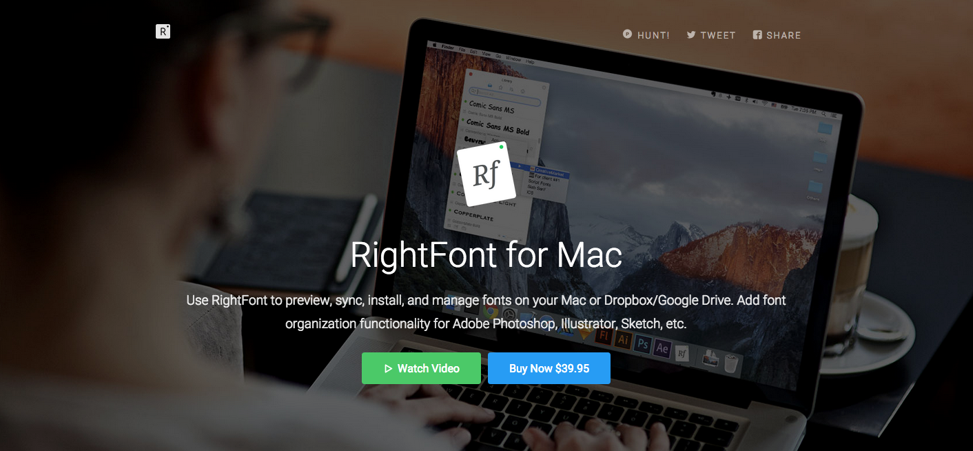 Rightfont For Mac Use Rightfont To Preview Sync Install And
