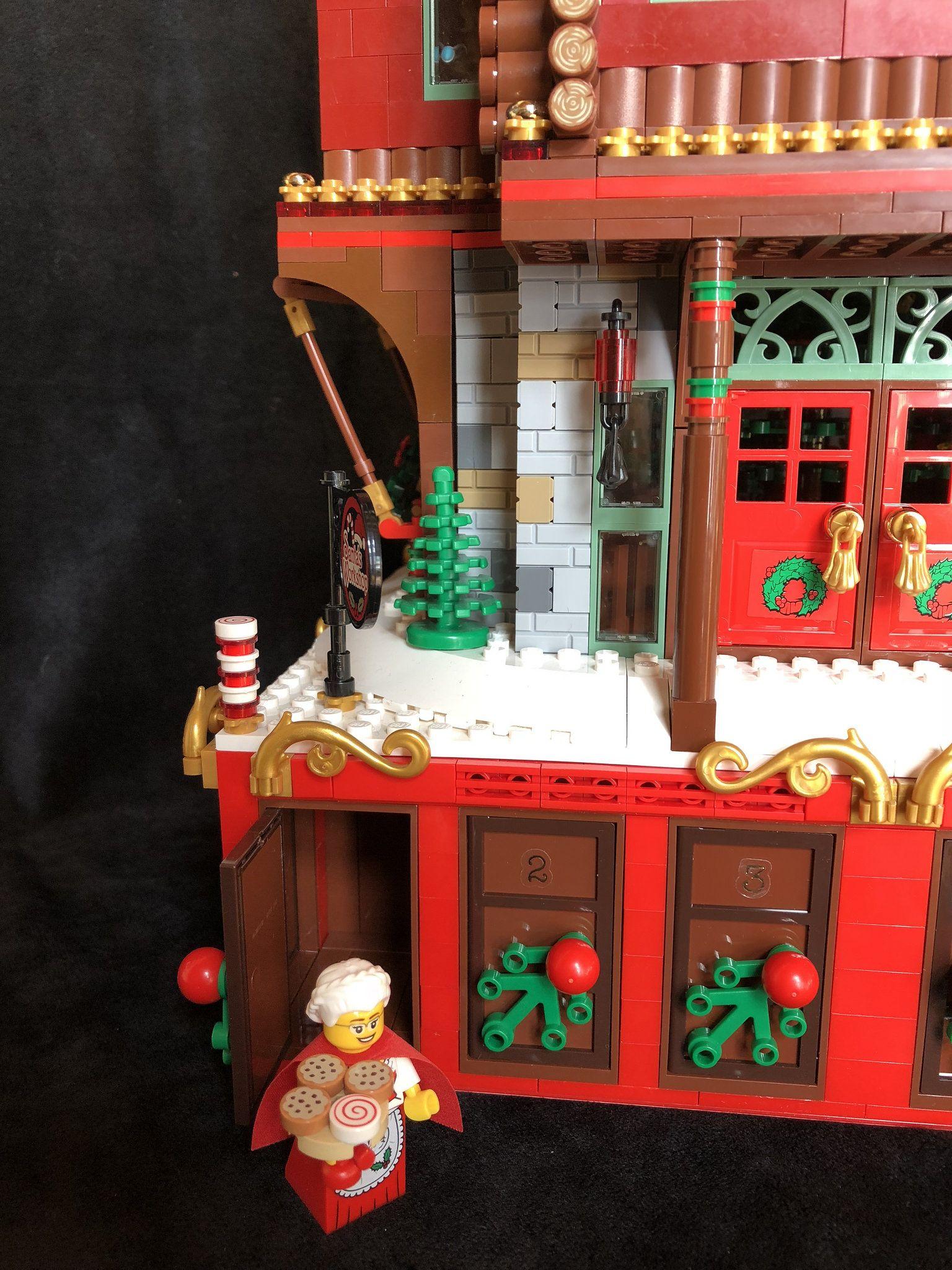 Day 1 Santa's at the North Pole Lego winter