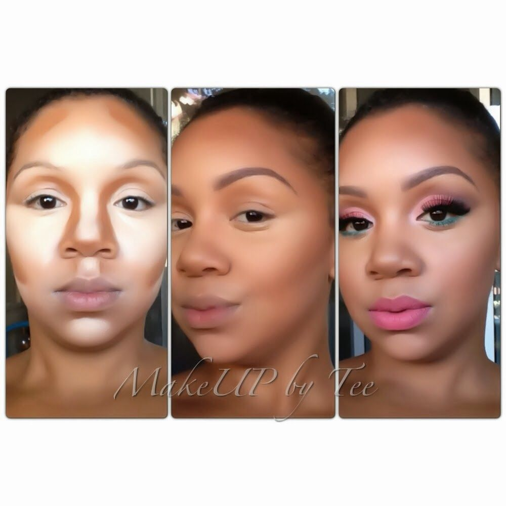 Make your features pop! How do you do that? Highlight and contour. Highlighting and contouring really used to be a secret of the pros until Kim K's Makeup artist showed how he contoured & highl...