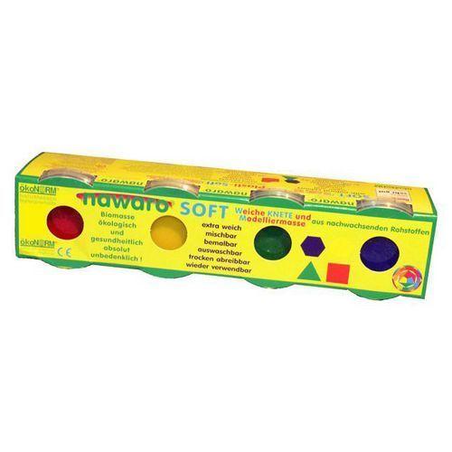 ökoNORM SOFT- Knete Nawaro 4er-Set | D-Toy Kreativspielzeug