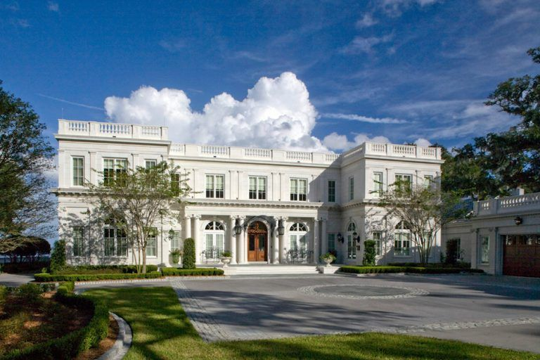 Classic Beaux Arts Mansion In Jacksonville Fl By Morales Construction Co Photos Mansions Custom Home Builders Mansion Designs