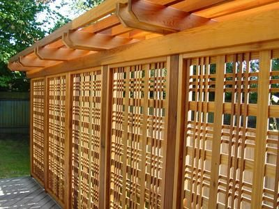 Catalina Lattice Woodway Products By Lwo Corp Of Portland