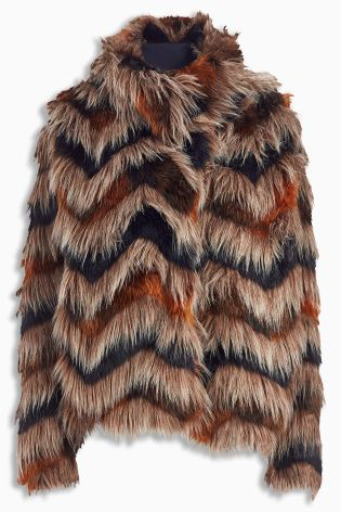 Check out this gorgeous Faux Fur Jacket from Next - we've included ...