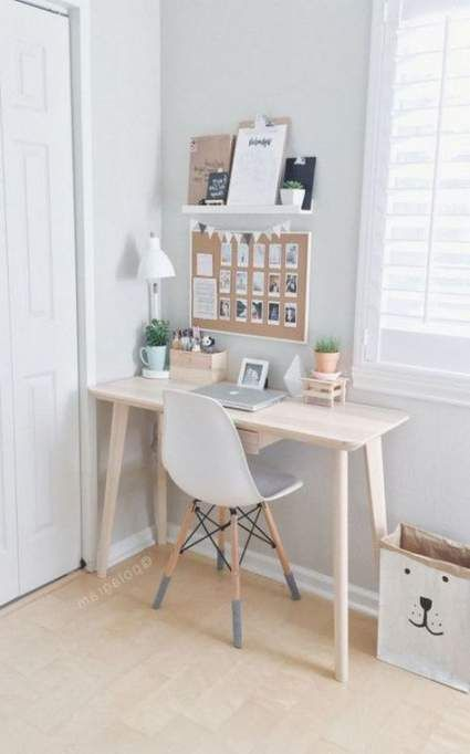 18+ Ideas Bedroom Small Desk Apartment Therapy For 2019
