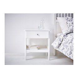 Tyssedal Yöpöytä Valkoinen F U R N I T U R E Bedside Table