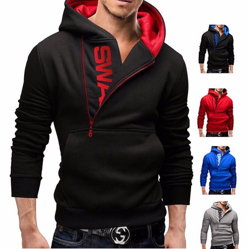 Men/'s Fleece Hoodie Hooded Coats Jacket Sweater Sweatshirt Jumper Tops Outwear