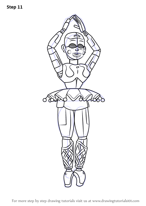 28 Collection Of Fnaf Sister Location Ballora Coloring Pages Download Free Best Quality On Clipart Email Fnaf Coloring Pages Fnaf Sister Location Fnaf