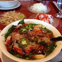 Oriental Pearl Restaurant Boothwyn Pa United States En Pho With A Side Of Onions Vinegar