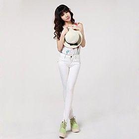 Women's Skinny Korean Style Slim Denim Jeans