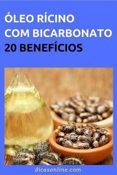 Veja Como O Oleo De Ricino E Bicarbonato Combatem Mais De 20