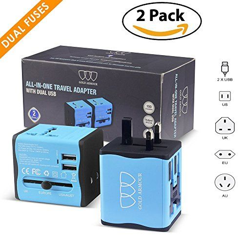Worldwide All in One Universal Travel Adapter. September 19 2019 at 05:46PM. Amazon Goldbox Deals. #Shopping #Deals #USA #Discount