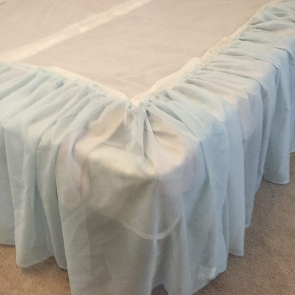 Learn How To Take $2 Curtains And Make Them Into A Tulle