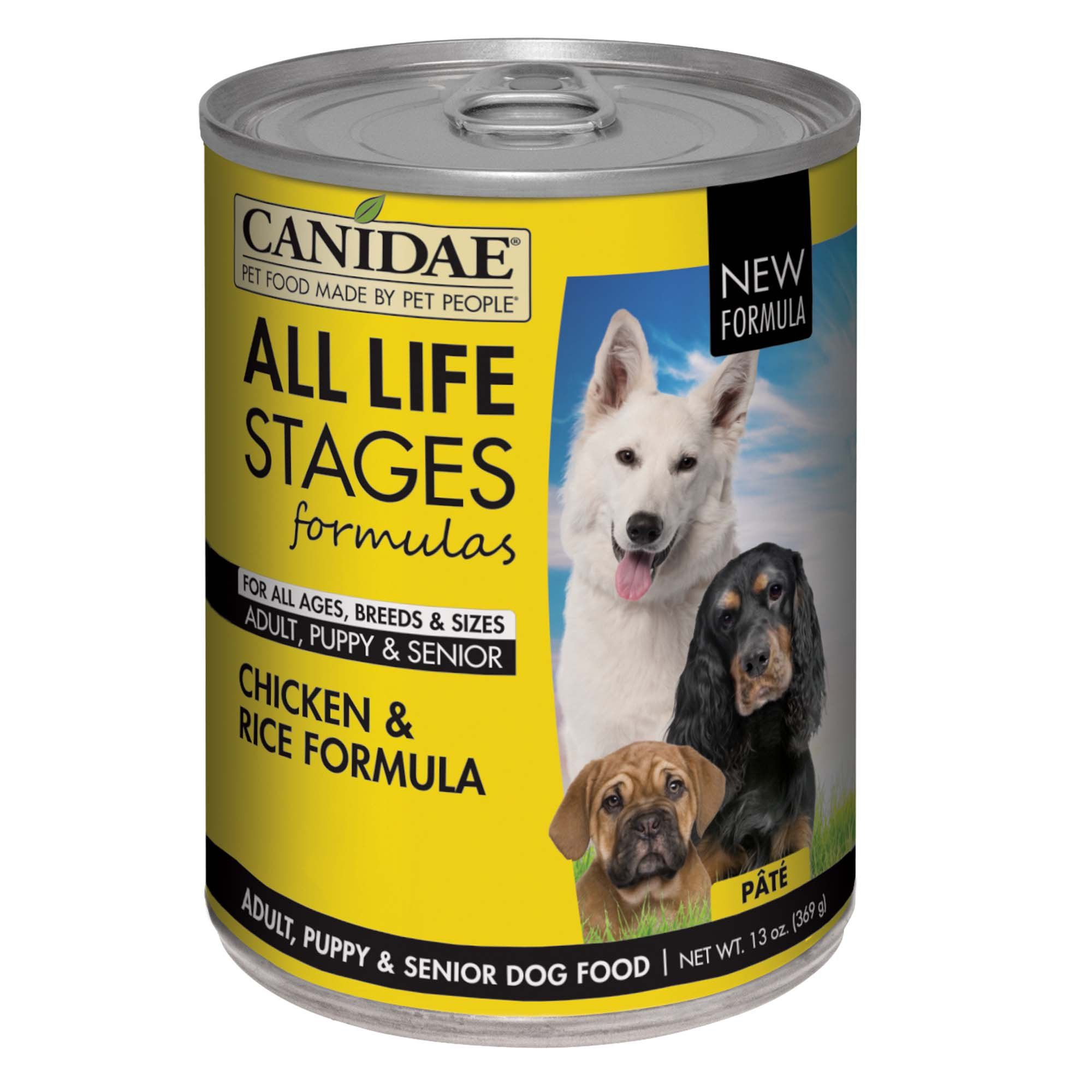 Canidae All Life Stages Chicken Rice Wet Dog Food 13 Oz Case