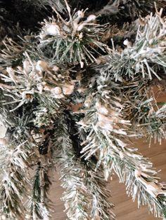 Flock A Christmas Tree Artificial