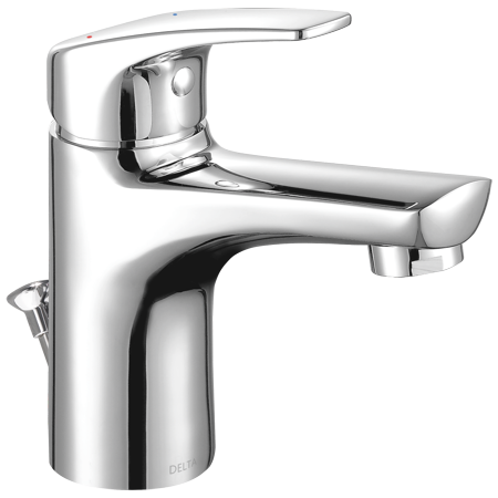 Delta Modern Single Handle Project Pack Bathroom Faucet In Chrome