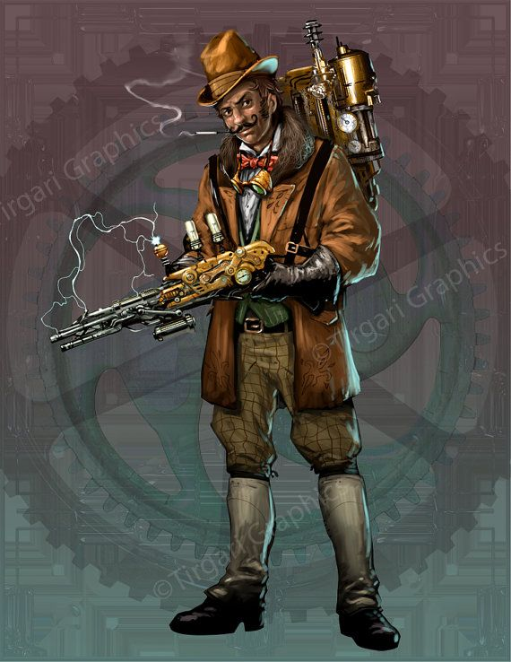Victorian steampunk adventurer science fiction futuristic